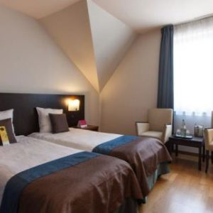 Cycling Holiday in Bruges - Velotel Room (1)