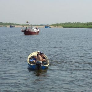 Cycling Holiday in Lithuania - Boat Minge-Nida