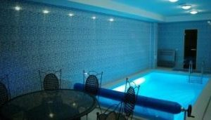Cycling Holiday in Lithuania - Hotel in Silute, Pool