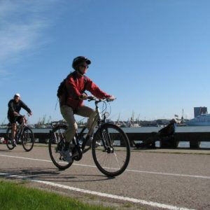 Cycling Holiday in Lithuania - Klaipeda Harbour