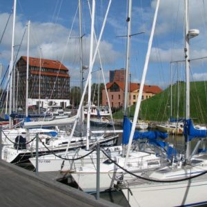 Cycling Holiday in Lithuania - Klaipeda Old Town - Castle Harbour