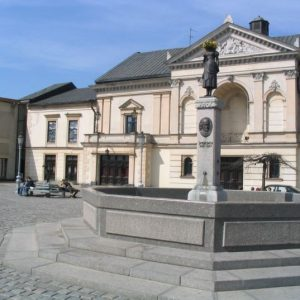 Cycling Holiday in Lithuania - Klaipeda Old Town Theatre Square