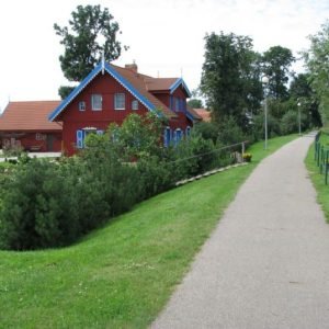 Cycling Holiday in Lithuania - Lithuanian Village - Rusne (1)