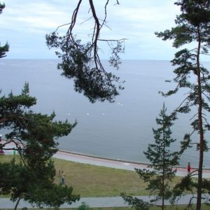 Cycling Holiday in Lithuania - Nida - View from Thomas Mann House