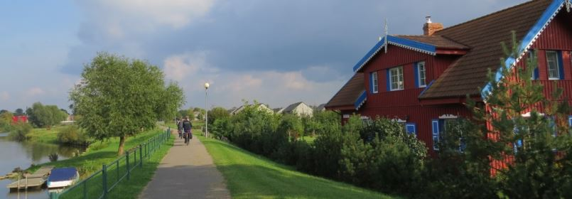 Cycling Holiday in Lithuania - Rusneisland Cycle Path