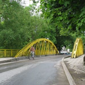 Cycling Holiday in Lithuania - Silute Bridge