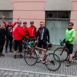 Group Cycling Tour Along the Danube