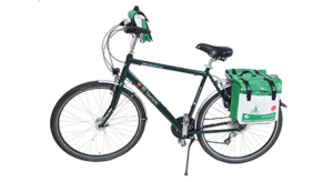 Cycling Tour from Schärding to Vienna - Mens Bike with panniers & Handlebar Bag