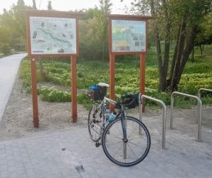Madrid to Loja Bike Tour (2) - Rio Manzanares Bike Path