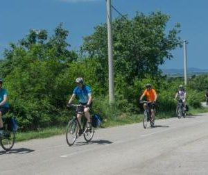 National Parks & Islands of Dalmatia - Group of Cyclists