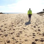 Tandem Bike Tour of Sardinia - All Alone on Spiaggia Di Campana Pontile