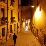 Tandem Bike Tour of Sardinia - Cagliari at Night