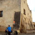 Tandem Bike Tour of Sardinia - Castle at Villasor