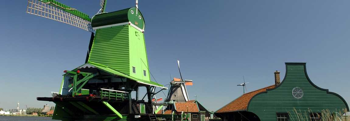 Boat & Bike Tour of Northern Holland - Windmill